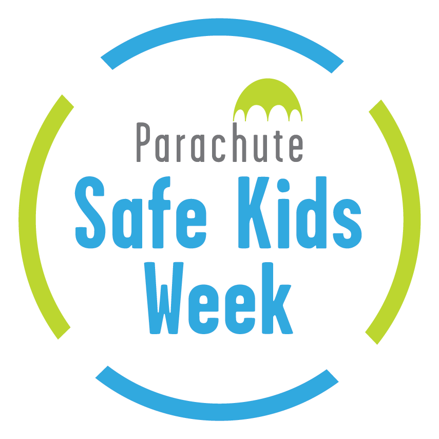 parachute safe kids week logo