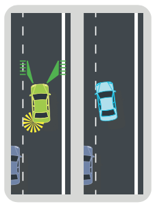 lane departure warning increases turn signal usage
