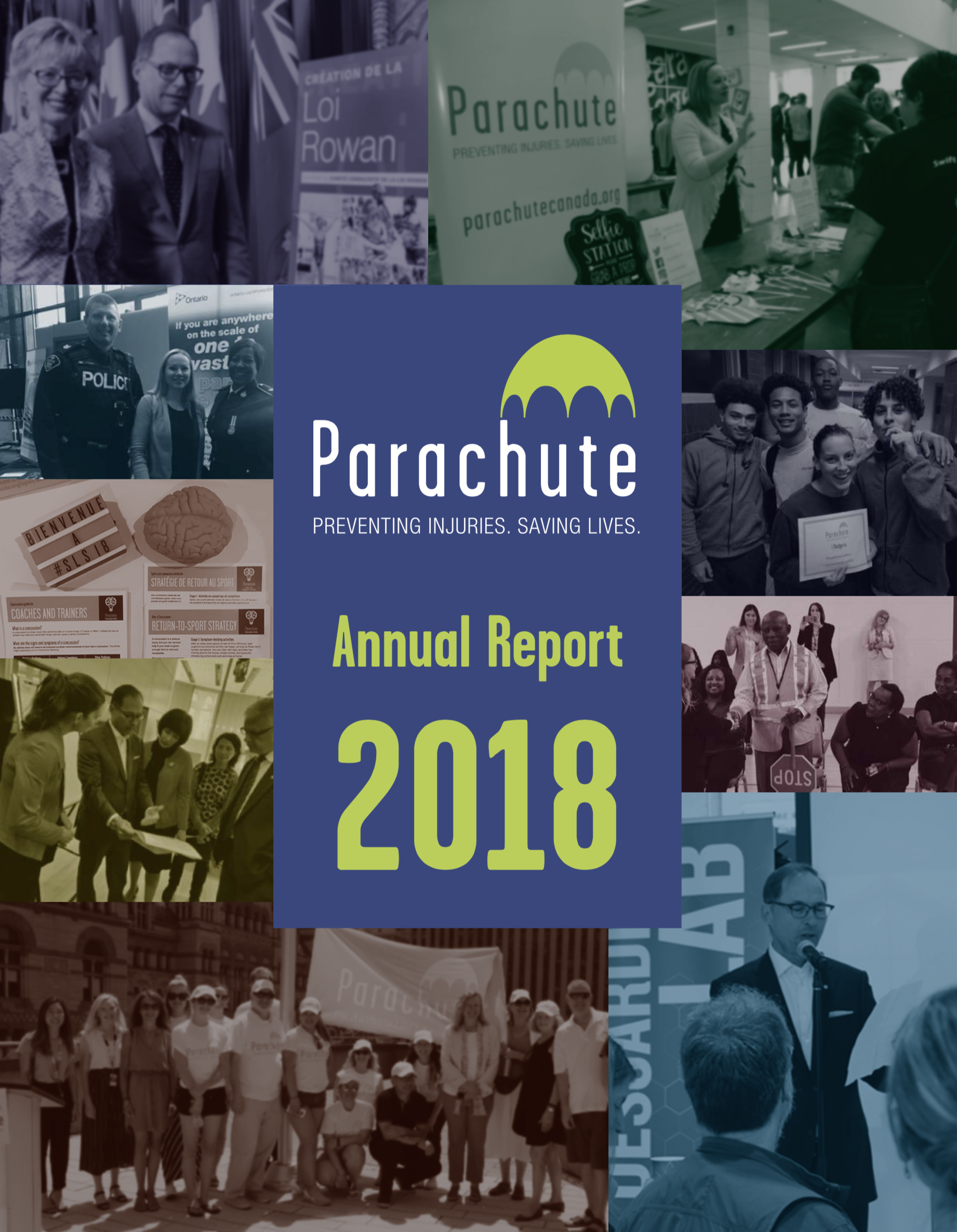 Parachute Annual Report 2018 cover
