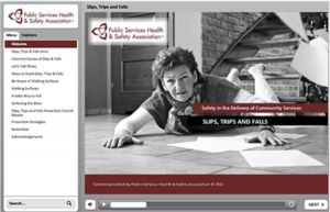 Thumbnail image of Community Care Slips, Trips and Falls online course
