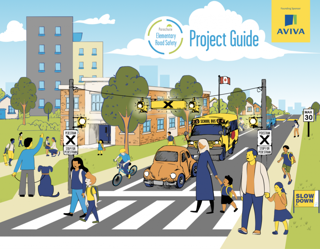 Elementary Road Safety Project Guide cover
