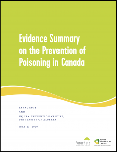 Twice as many people in Canada now die from unintentional poisoning than from transport-related injuries